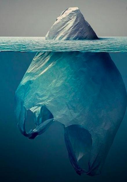 Plastic iceberg artist Jorge Gamboa